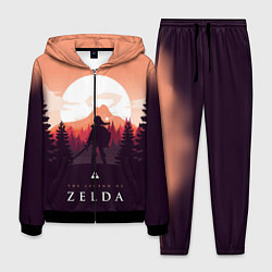 Костюм мужской The Legend of Zelda цвета 3D-черный — фото 1