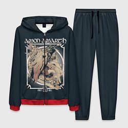 Костюм мужской Amon Amarth: Raven цвета 3D-красный — фото 1