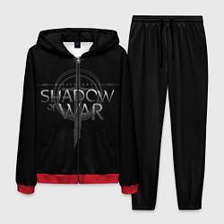 Костюм мужской Shadow of War цвета 3D-красный — фото 1