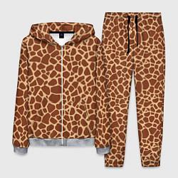Костюм мужской Жираф цвета 3D-меланж — фото 1