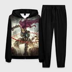 Костюм мужской Darksiders Warrior цвета 3D-черный — фото 1