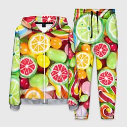 Костюм мужской Candy Summer цвета 3D-меланж — фото 1