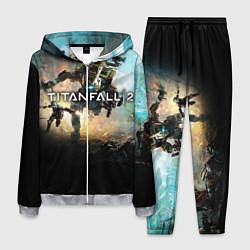 Костюм мужской Titanfall Battle цвета 3D-меланж — фото 1
