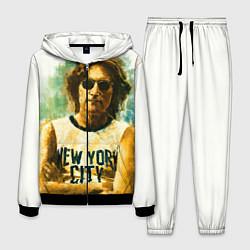 Костюм мужской John Lennon: New York цвета 3D-черный — фото 1