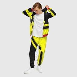 Костюм мужской BVB FC: Yellow style цвета 3D-красный — фото 2