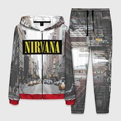 Костюм мужской Nirvana City цвета 3D-красный — фото 1