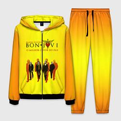 Костюм мужской Bon Jovi Band цвета 3D-черный — фото 1