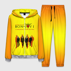 Костюм мужской Bon Jovi Band цвета 3D-меланж — фото 1