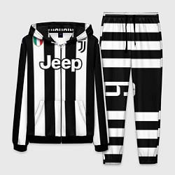 Костюм мужской Juventus FC: Higuain Home 17/18 цвета 3D-черный — фото 1