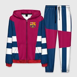 Костюм мужской Barcelona FC: Vintage 2018 цвета 3D-красный — фото 1