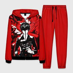 Костюм мужской Persona 5 цвета 3D-черный — фото 1