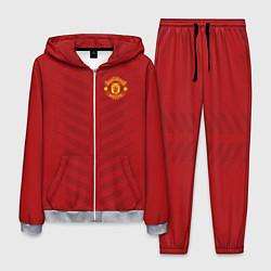 Костюм мужской Manchester United: Red Lines цвета 3D-меланж — фото 1
