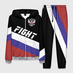 Костюм мужской Fight Russia цвета 3D-меланж — фото 1