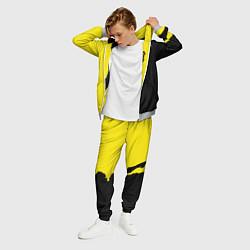 Костюм мужской PUBG: Yellow Shadow цвета 3D-меланж — фото 2