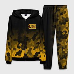 Костюм мужской PUBG: Military Honeycomb цвета 3D-черный — фото 1