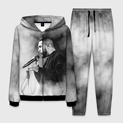 Костюм мужской Jah Khalib: Black mist цвета 3D-черный — фото 1