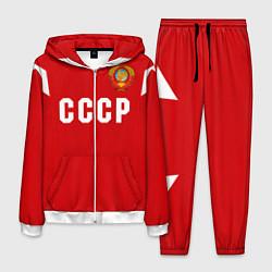 Костюм мужской Сборная СССР 1988 цвета 3D-белый — фото 1