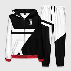 Костюм мужской FC Juventus: Star цвета 3D-красный — фото 1