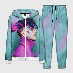 Костюм мужской Lil Peep: Neon Style цвета 3D-белый — фото 1