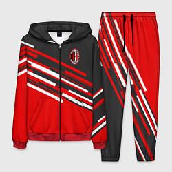 Костюм мужской АC Milan: R&G цвета 3D-красный — фото 1