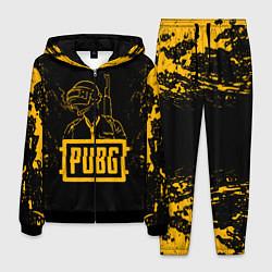 Костюм мужской PUBG: Black Soldier цвета 3D-черный — фото 1