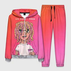 Костюм мужской Lil Pump Boss цвета 3D-меланж — фото 1