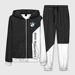 Костюм мужской BMW Motorsport: Black Carbon цвета 3D-белый — фото 1