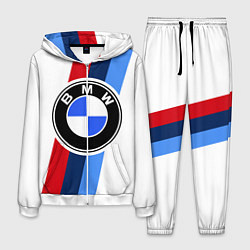 Костюм мужской BMW M: White Sport цвета 3D-белый — фото 1
