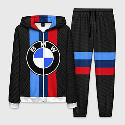 Костюм мужской BMW: M Black Carbon цвета 3D-белый — фото 1