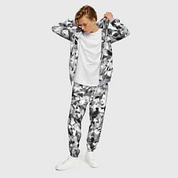 Костюм мужской Городской серый камуфляж цвета 3D-меланж — фото 2