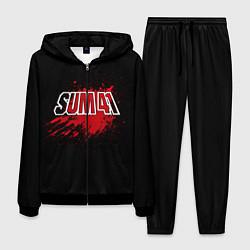 Костюм мужской Sum 41: Hot Blood цвета 3D-черный — фото 1