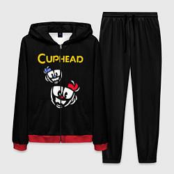 Костюм мужской Cuphead: Mugman Faces цвета 3D-красный — фото 1