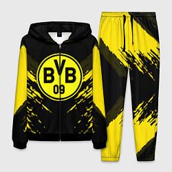 Костюм мужской Borussia FC: Sport Fashion цвета 3D-черный — фото 1
