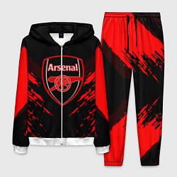 Костюм мужской Arsenal FC: Sport Fashion цвета 3D-белый — фото 1