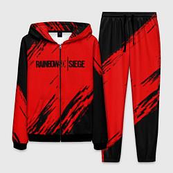 Костюм мужской R6S: Red Style цвета 3D-черный — фото 1