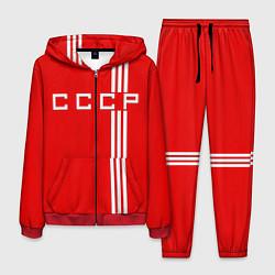 Костюм мужской Cборная СССР цвета 3D-красный — фото 1