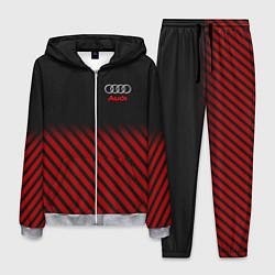 Костюм мужской Audi: Red Lines цвета 3D-меланж — фото 1