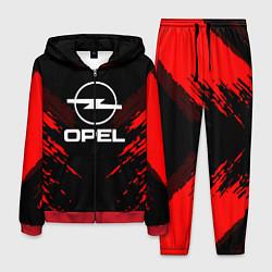 Костюм мужской Opel: Red Anger цвета 3D-красный — фото 1