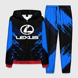 Костюм мужской Lexus: Blue Anger цвета 3D-красный — фото 1