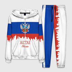 Костюм мужской Altai: Russia цвета 3D-белый — фото 1