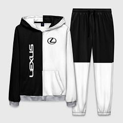 Мужской костюм Lexus: Black & White
