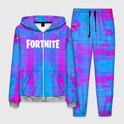 Костюм мужской Fortnite: Acid Neon цвета 3D-меланж — фото 1