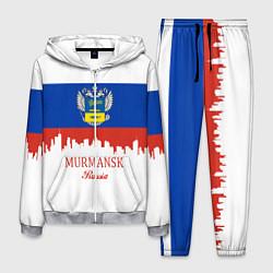 Костюм мужской Murmansk: Russia цвета 3D-меланж — фото 1