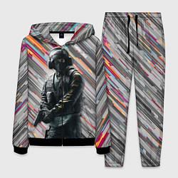 Костюм мужской Rainbow Six Siege цвета 3D-черный — фото 1