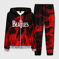 Костюм мужской The Beatles: Red Flame цвета 3D-меланж — фото 1