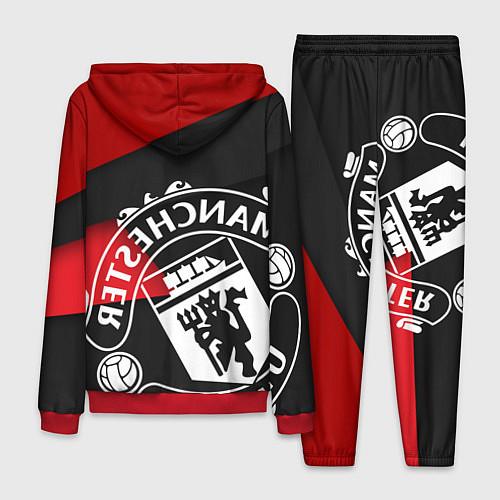 Мужской костюм FC Man United: Exclusive / 3D-Красный – фото 2