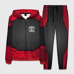 Костюм мужской Toyota: Metal Sport цвета 3D-красный — фото 1