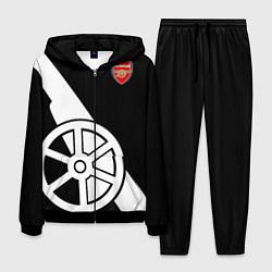 Костюм мужской FC Arsenal: Exclusive цвета 3D-черный — фото 1