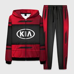 Костюм мужской KIA Collection цвета 3D-черный — фото 1