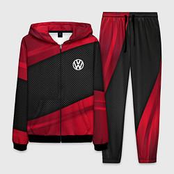Костюм мужской Volkswagen: Red Sport цвета 3D-черный — фото 1